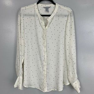 2 for $20 H&M Heart Printed Long Sleeve Top